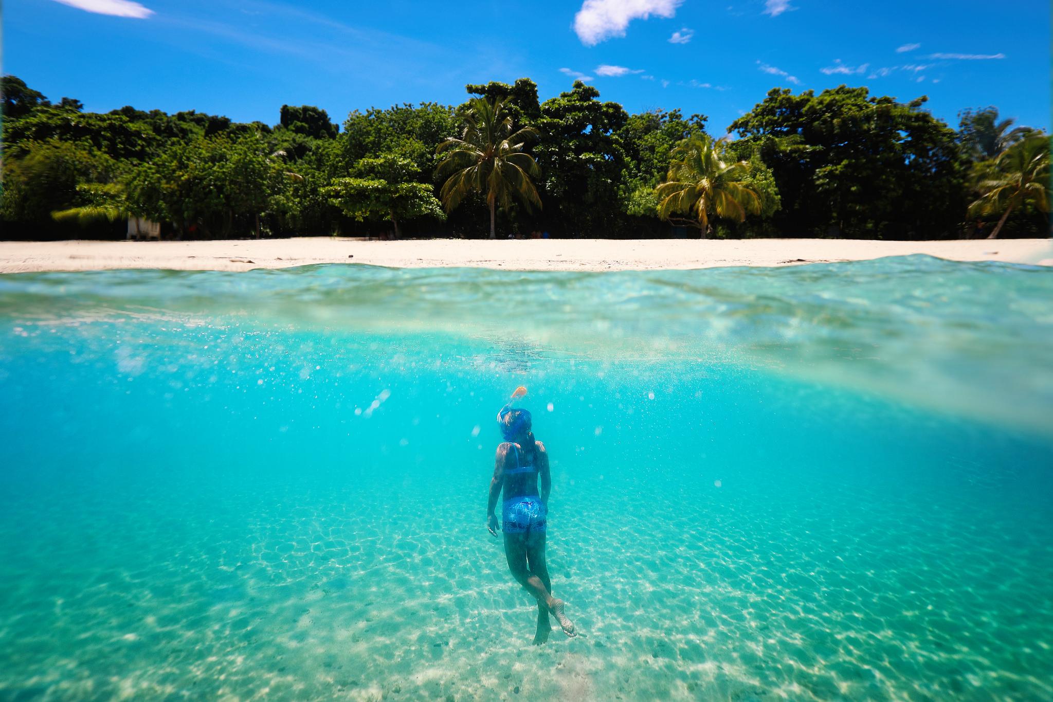 nosy be madagascar snorkelling go pro sous l'ocean