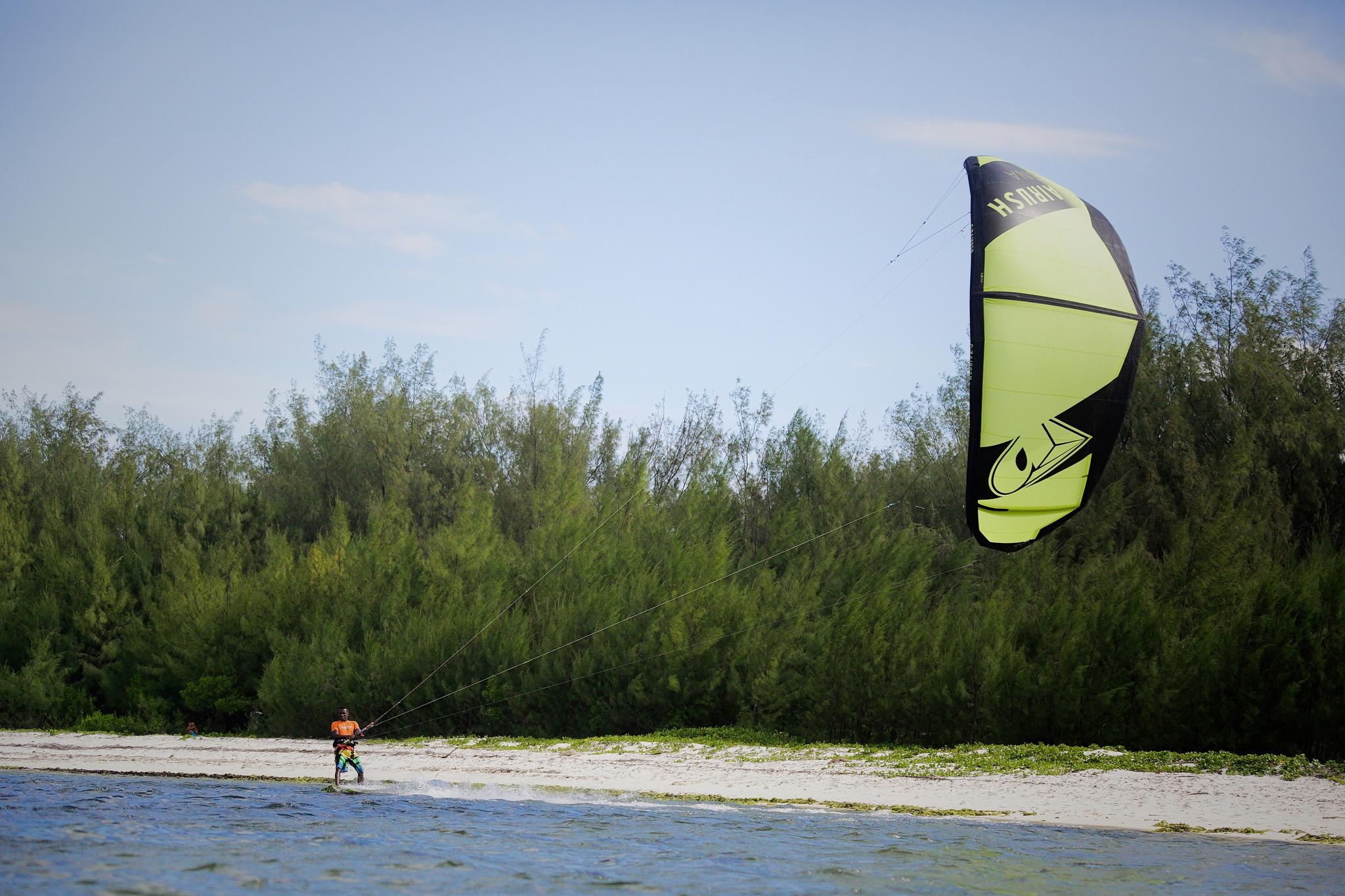 kiteur pro diego mer plage sport nautique