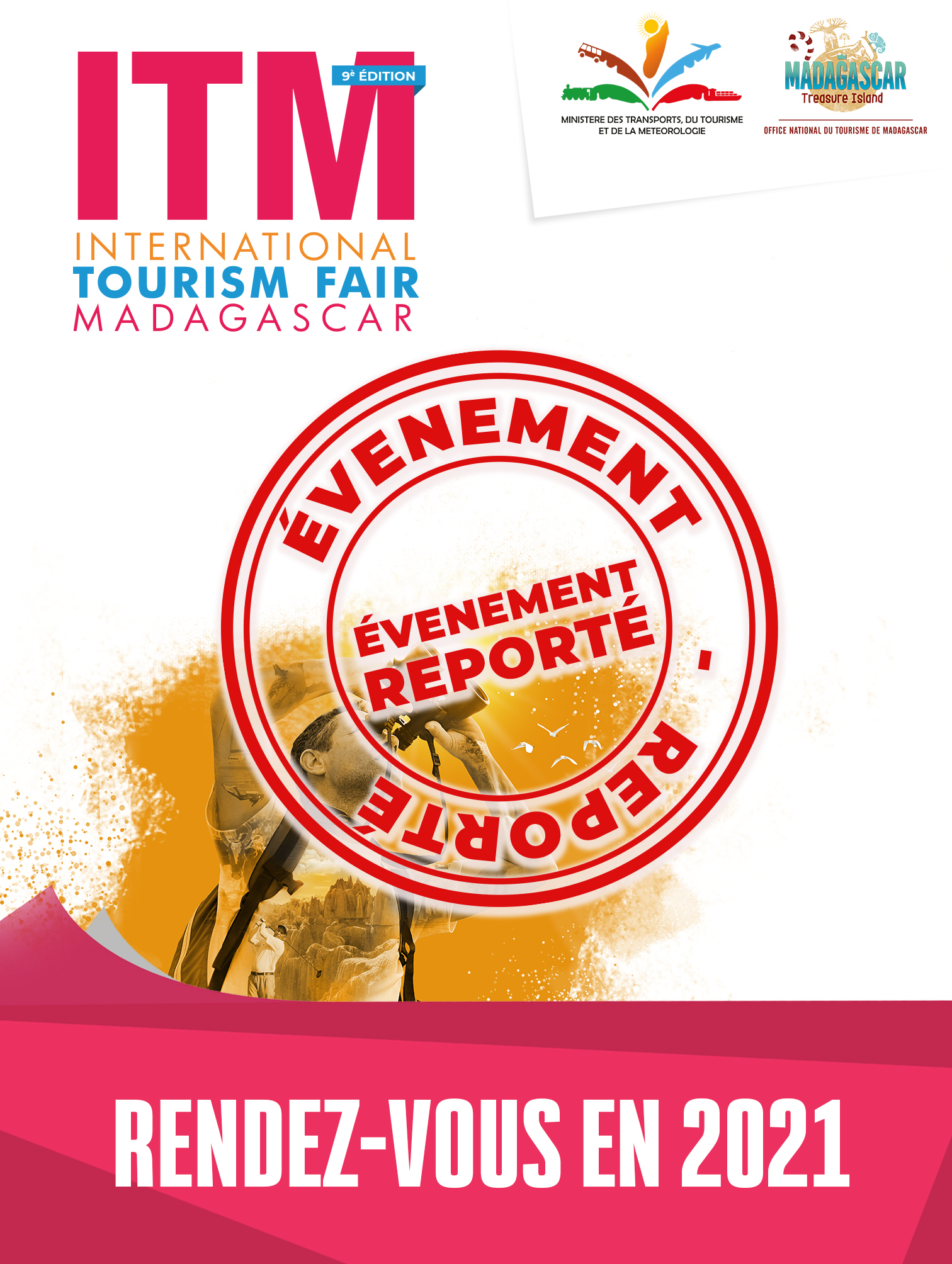 ITM (International Tourism Fair Madagascar) – Reporté - 0